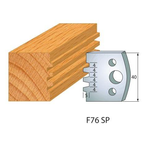 Profilmesser bzw. Abweiser Nr.76   BG-konform - 40 mm