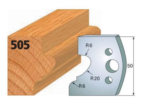 Profilmesser bzw. Abweiser Nr. 505 | 50 mm