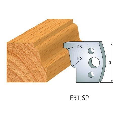 Profilmesser bzw. Abweiser Nr.31 | BG-konform - 40 mm