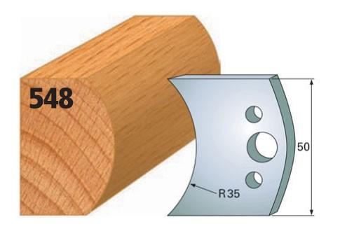 Profilmesser bzw. Abweiser Nr. 548 | 50 mm