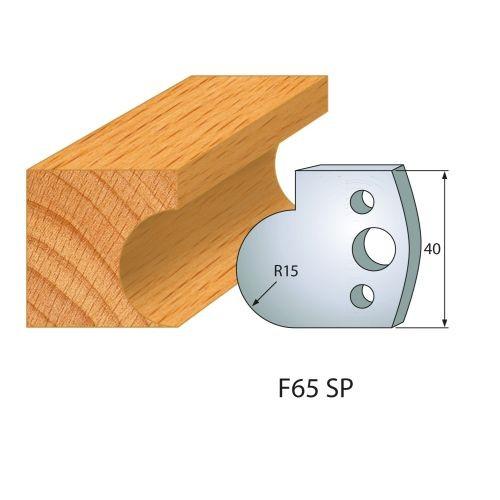 Profilmesser bzw. Abweiser Nr.65 | BG-konform - 40 mm