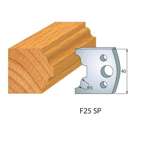 Profilmesser bzw. Abweiser Nr.25 | BG-konform - 40 mm