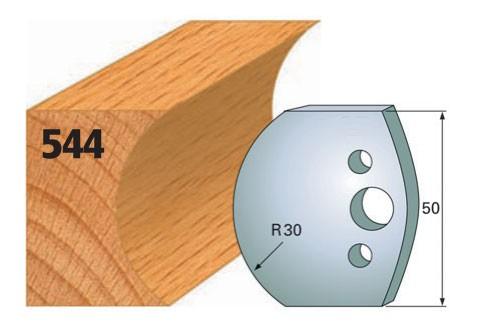 Profilmesser bzw. Abweiser Nr. 544 | 50 mm