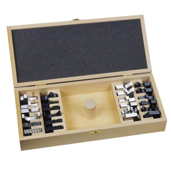 Kassettensatz mit 12 Paar Messer + Abweiser