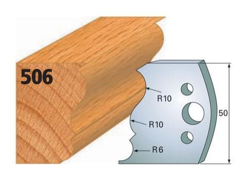 Profilmesser bzw. Abweiser Nr. 506 | 50 mm
